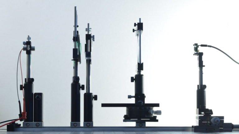 Focal Length Test Setup